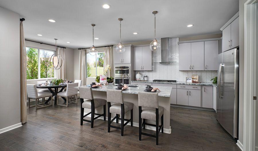 Kitchen featured in the Teagan By Richmond American Homes in Riverside-San Bernardino, CA