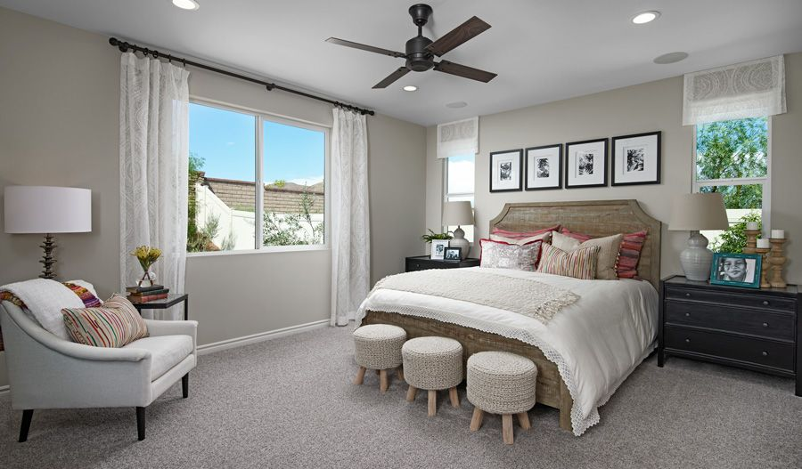 Bedroom featured in the Timothy By Richmond American Homes in Riverside-San Bernardino, CA