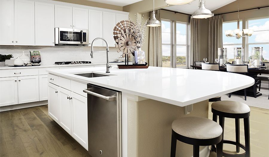Kitchen featured in the Hemingway By Richmond American Homes in Denver, CO