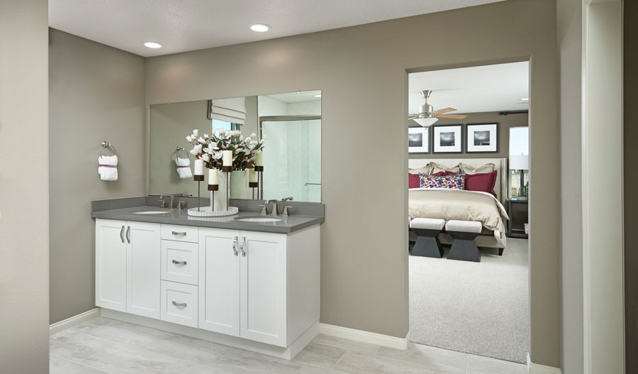 Bathroom featured in the Ammolite By Richmond American Homes in Riverside-San Bernardino, CA