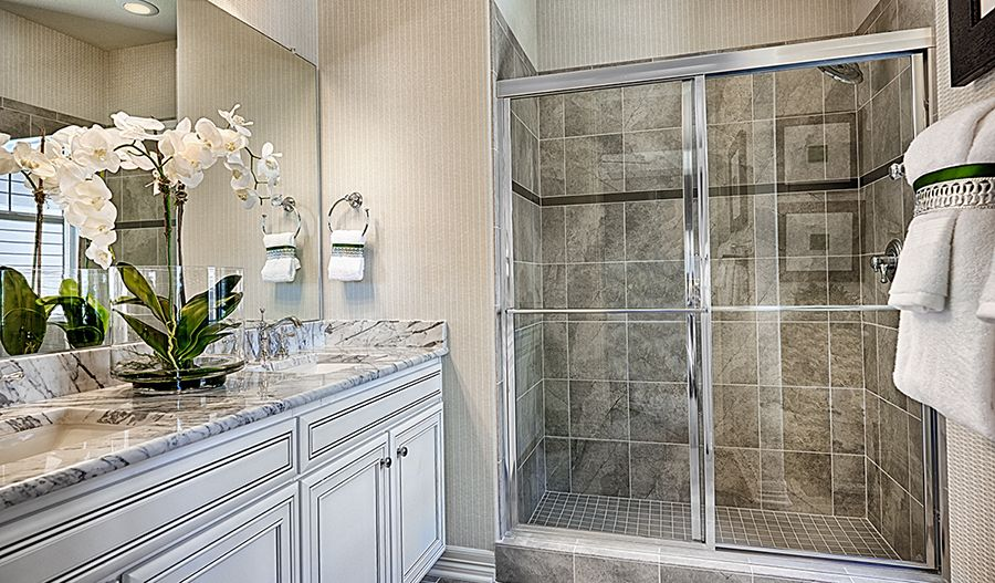Bathroom featured in the Alcott By Richmond American Homes in Denver, CO