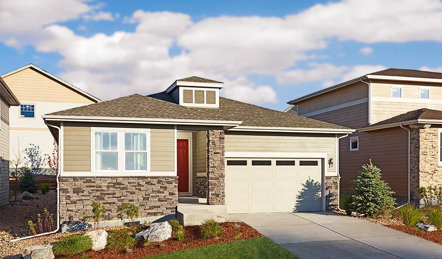 'Willow Neighborhood at Copperleaf' by Richmond American Homes - Denver in Denver