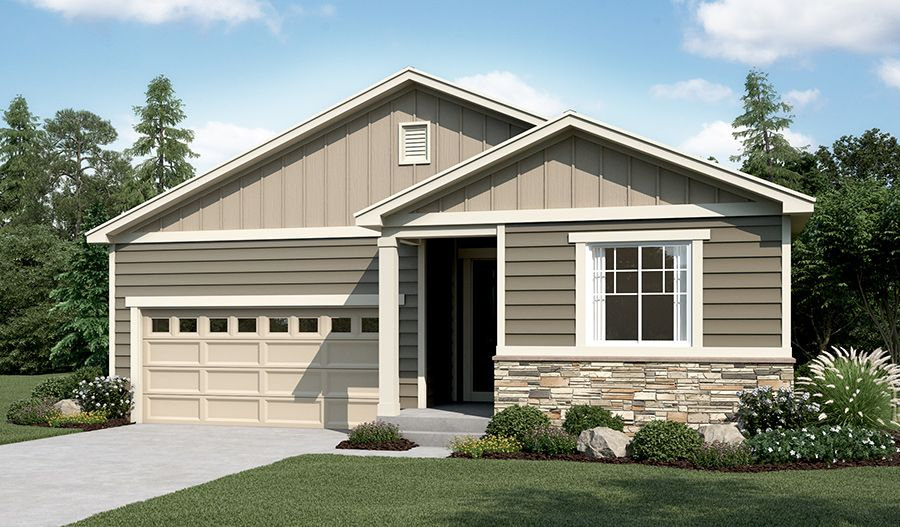 Exterior featured in the Onyx By Richmond American Homes in Denver, CO
