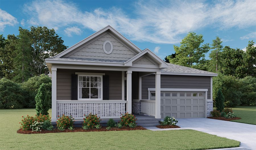 Exterior featured in the Alexandrite By Richmond American Homes in Denver, CO