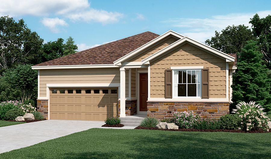 'Landmark at Eastpoint' by Richmond American Homes - Denver in Denver