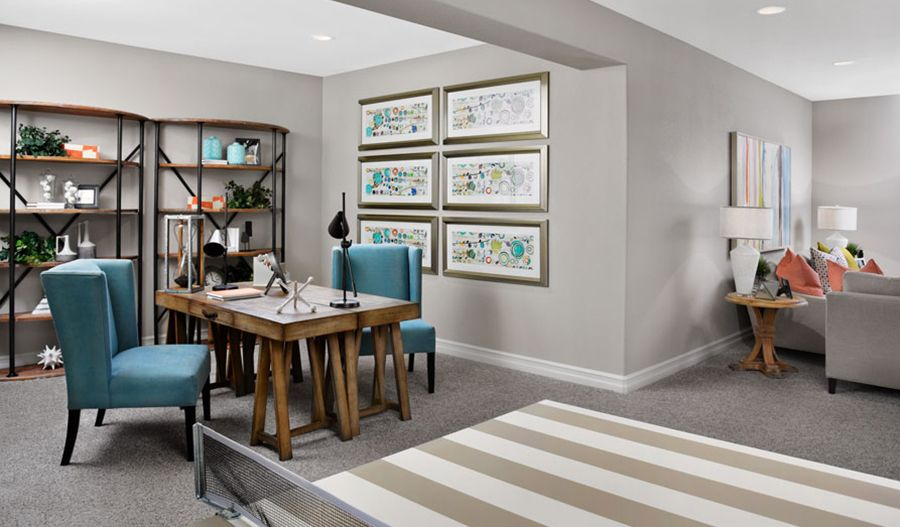 Living Area featured in the Coronado By Richmond American Homes in Denver, CO