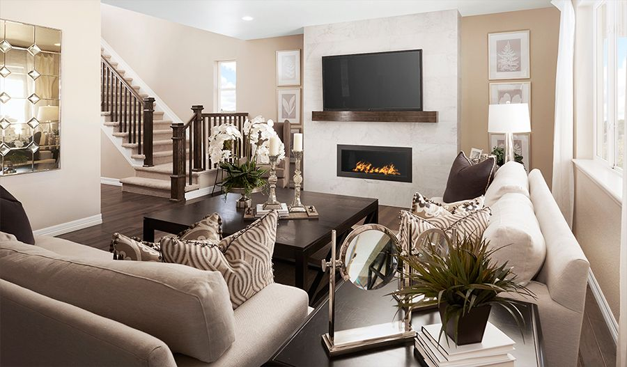 Living Area featured in the Yorktown By Richmond American Homes in Denver, CO