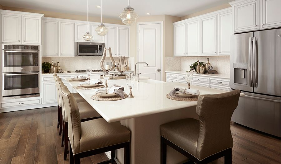 Kitchen featured in the Yorktown By Richmond American Homes in Denver, CO