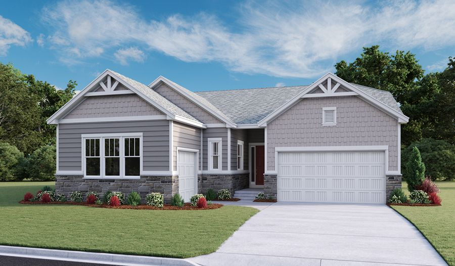 Exterior featured in the Daniel By Richmond American Homes in Denver, CO