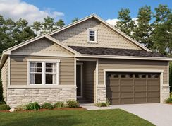 Alcott - Oak Neighborhood at Copperleaf: Aurora, Colorado - Richmond American Homes