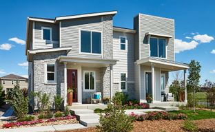 Urban Collection at Eastpoint by Richmond American Homes in Denver Colorado