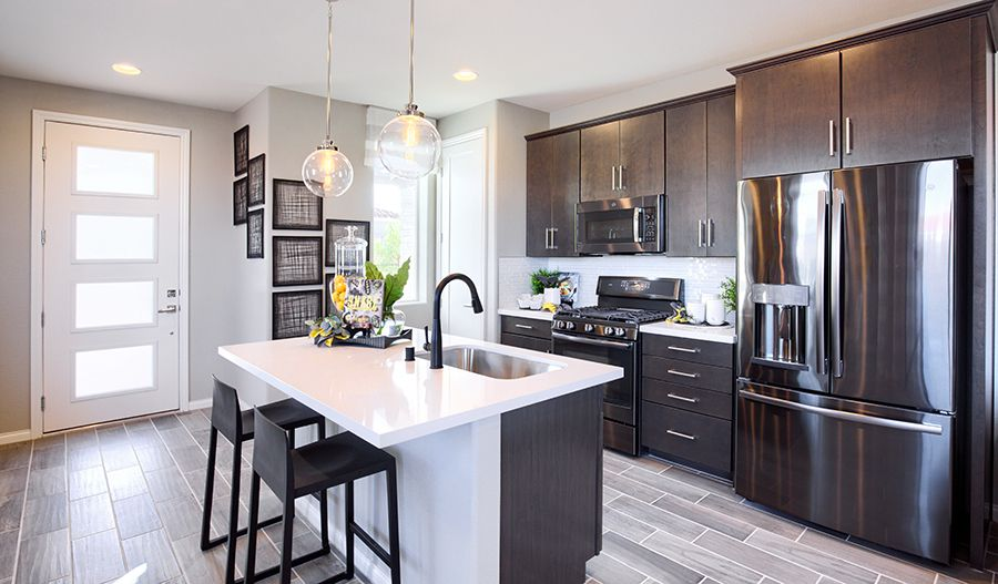 Kitchen featured in the Chicago By Richmond American Homes in Denver, CO
