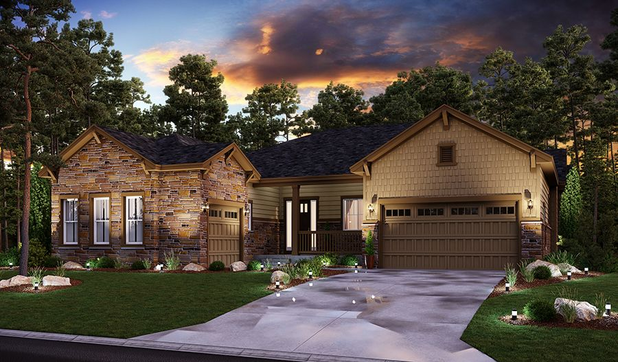 Exterior featured in the Hanford By Richmond American Homes in Denver, CO