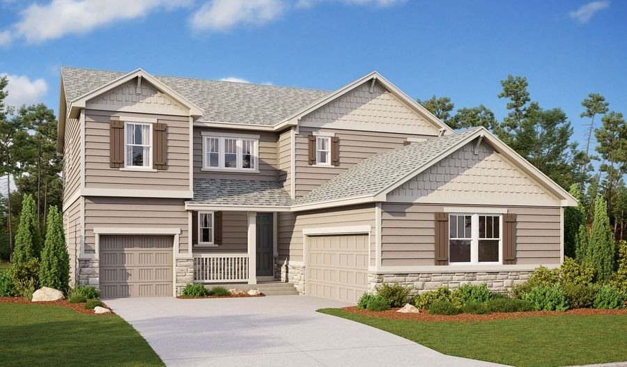 Exterior featured in the Thomas By Richmond American Homes in Denver, CO