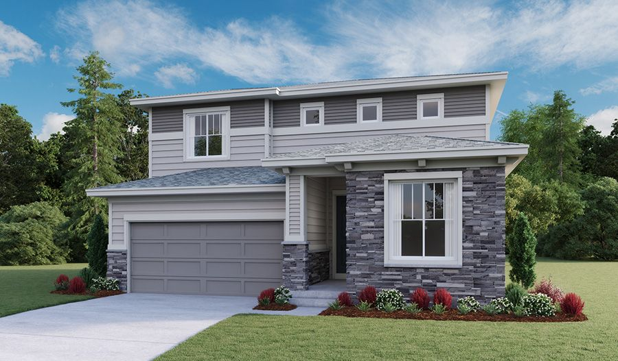 Exterior featured in the Citrine By Richmond American Homes in Denver, CO