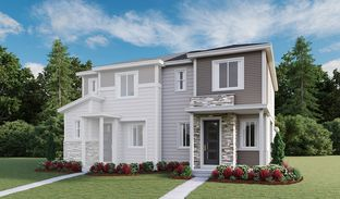 Chicago - Urban Collection at Eastpoint: Commerce City, Colorado - Richmond American Homes