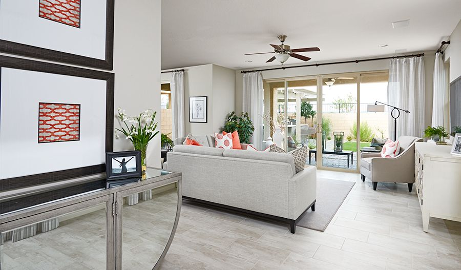 Living Area featured in the Dogwood By Richmond American Homes in Las Vegas, NV