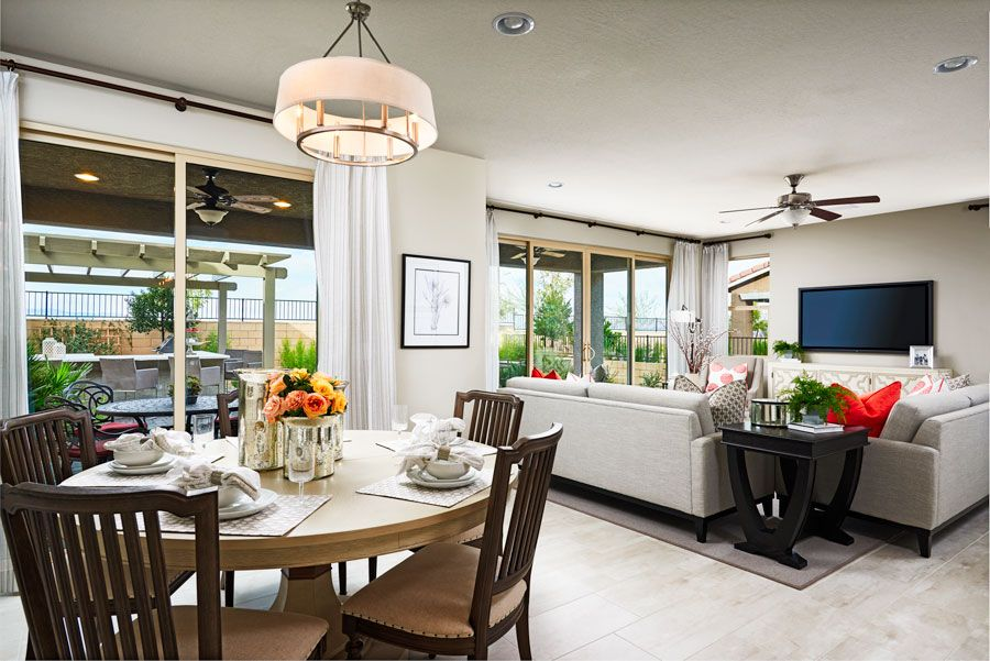 Kitchen featured in the Dogwood By Richmond American Homes in Las Vegas, NV