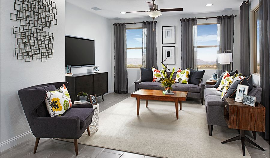 Living Area featured in the Birch By Richmond American Homes in Las Vegas, NV