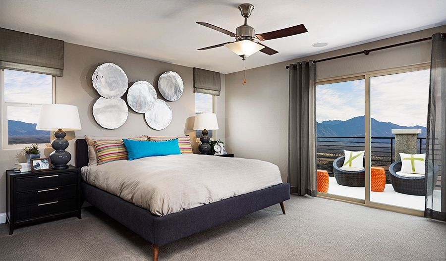 Bedroom featured in the Birch By Richmond American Homes in Las Vegas, NV