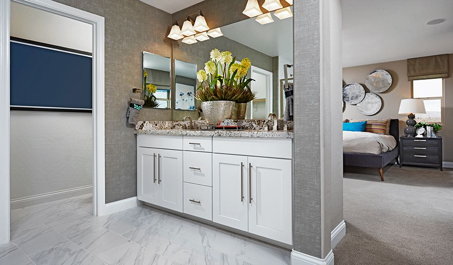 Bathroom featured in the Birch By Richmond American Homes in Las Vegas, NV