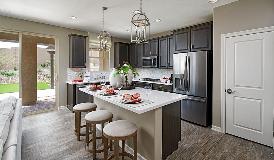Kitchen featured in the Lantana By Richmond American Homes in Las Vegas, NV