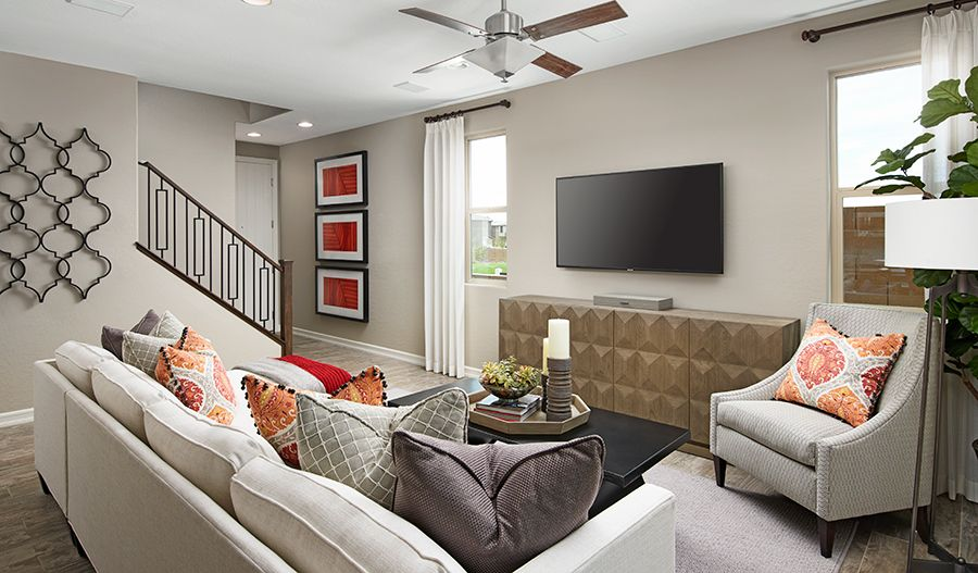 Living Area featured in the Lantana By Richmond American Homes in Las Vegas, NV