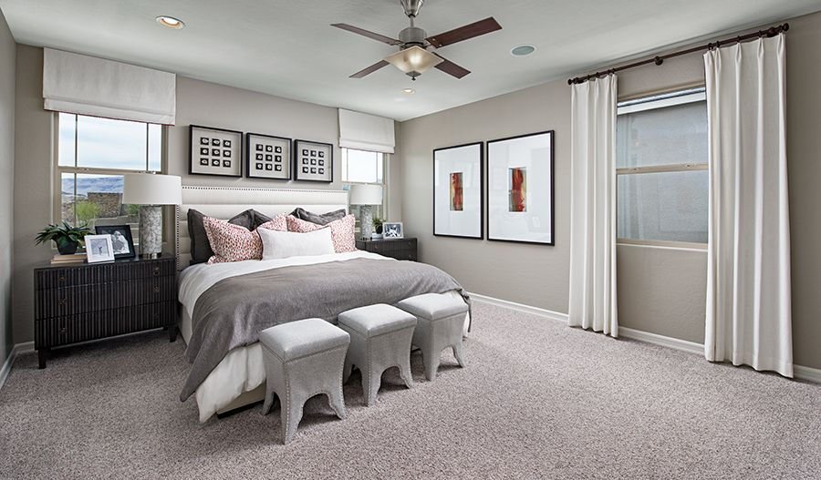 Bedroom featured in the Lantana By Richmond American Homes in Las Vegas, NV