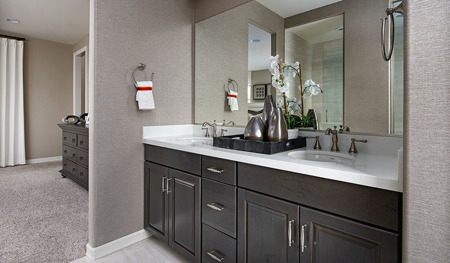 Bathroom featured in the Lantana By Richmond American Homes in Las Vegas, NV