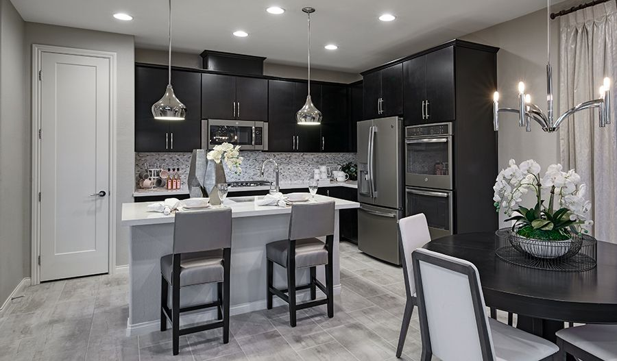 Kitchen featured in the Oleander By Richmond American Homes in Las Vegas, NV