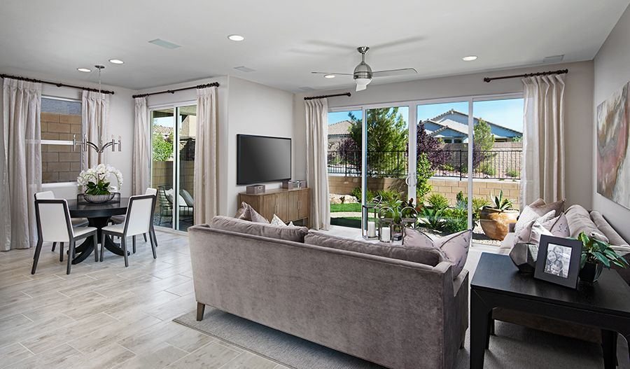 Living Area featured in the Oleander By Richmond American Homes in Las Vegas, NV