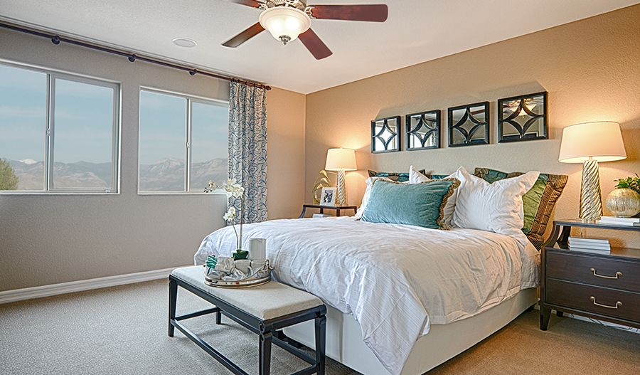 Bedroom featured in the Oleander By Richmond American Homes in Las Vegas, NV