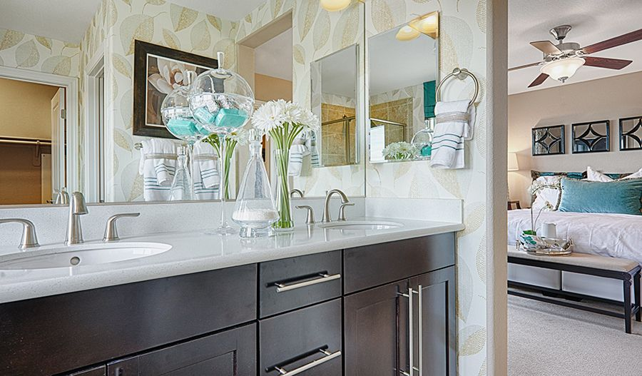 Bathroom featured in the Oleander By Richmond American Homes in Las Vegas, NV