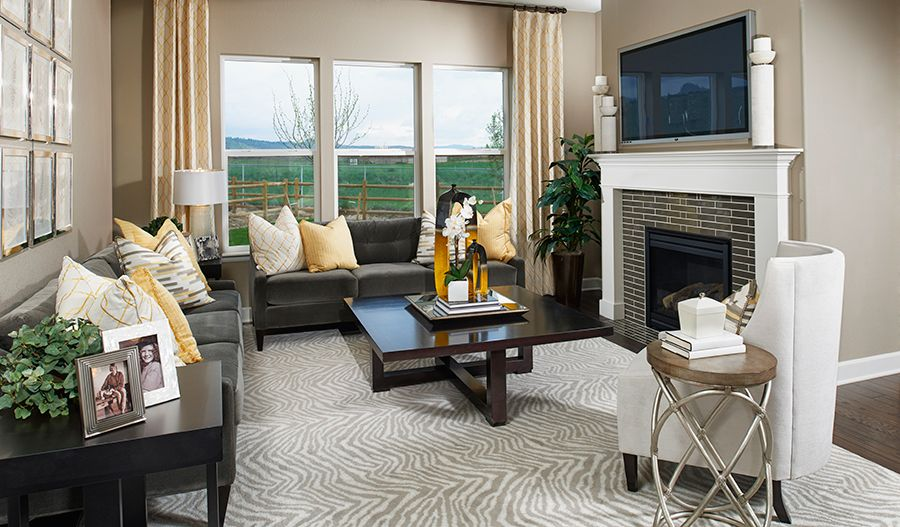 Living Area featured in the Avalon By Richmond American Homes in Las Vegas, NV