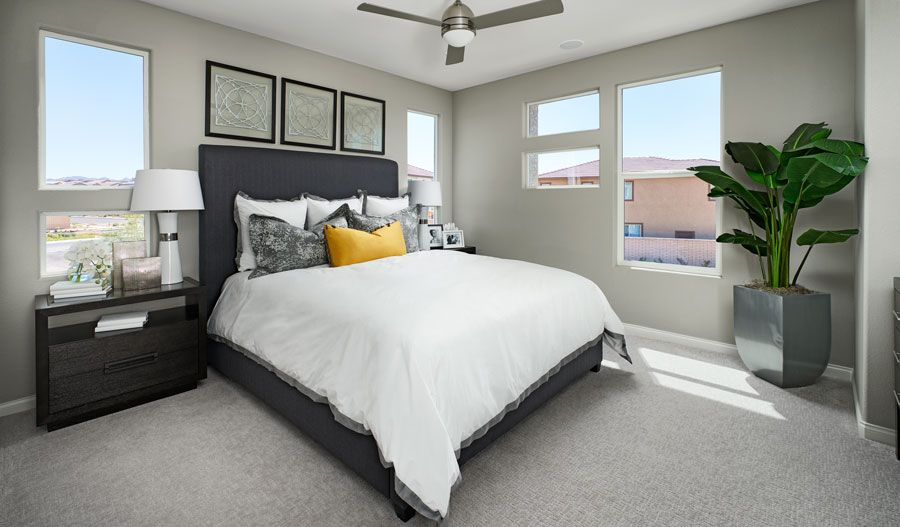 Bedroom featured in the Chicago By Richmond American Homes in Las Vegas, NV