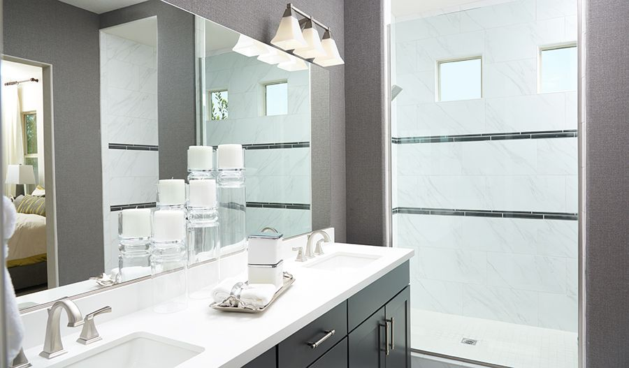 Bathroom featured in the Paige By Richmond American Homes in Sacramento, CA