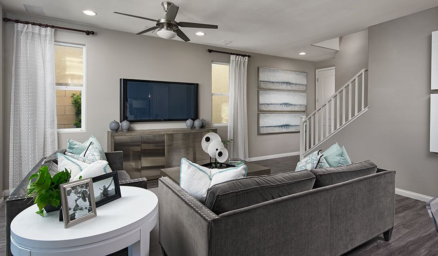 Living Area featured in the Alder By Richmond American Homes in Las Vegas, NV