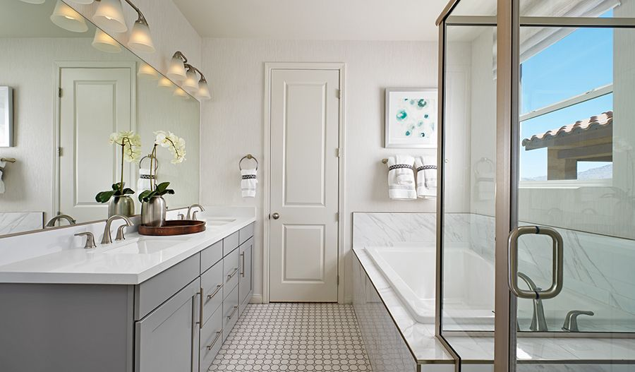 Bathroom featured in the Alder By Richmond American Homes in Las Vegas, NV