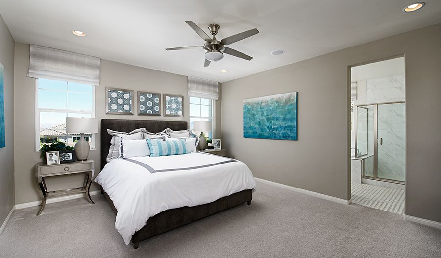 Bedroom featured in the Alder By Richmond American Homes in Las Vegas, NV