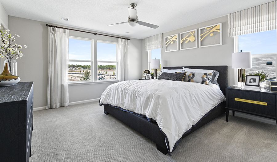 Bedroom featured in the Moonstone By Richmond American Homes in Lakeland-Winter Haven, FL