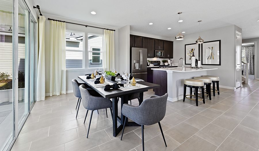 Kitchen featured in the Moonstone By Richmond American Homes in Daytona Beach, FL