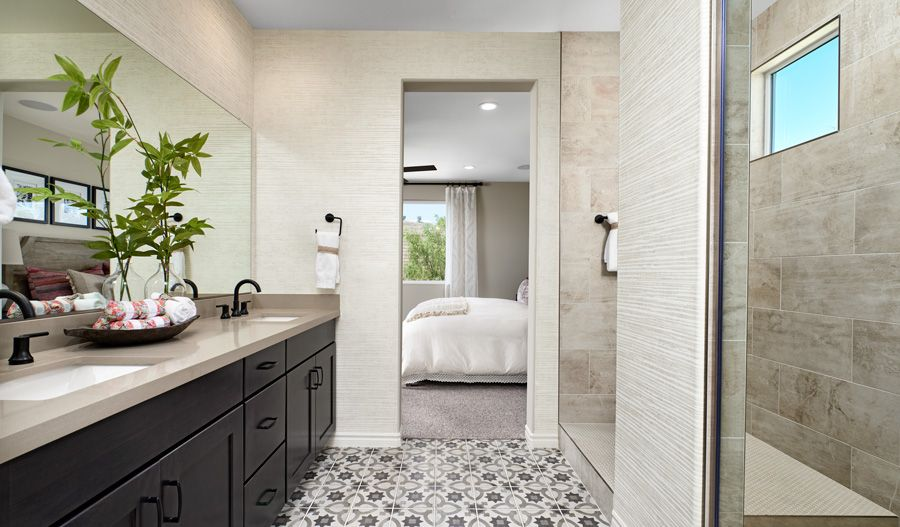 Bathroom featured in the Timothy By Richmond American Homes in Riverside-San Bernardino, CA