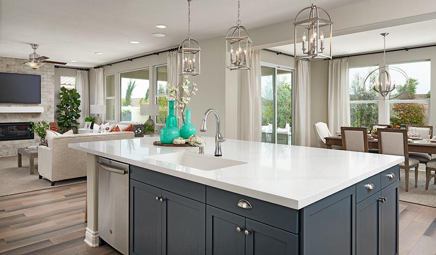 Kitchen featured in the Hemingway By Richmond American Homes in Riverside-San Bernardino, CA