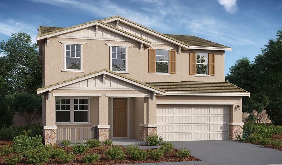 Exterior featured in the Hemingway By Richmond American Homes in Riverside-San Bernardino, CA