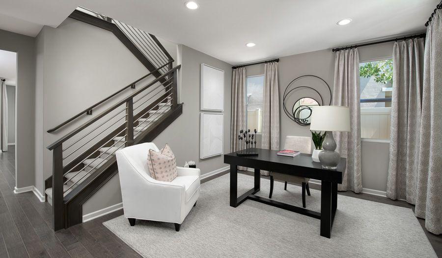 Living Area featured in the Teagan By Richmond American Homes in Riverside-San Bernardino, CA