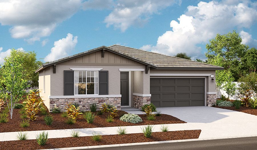Exterior featured in the Agate By Richmond American Homes in Riverside-San Bernardino, CA