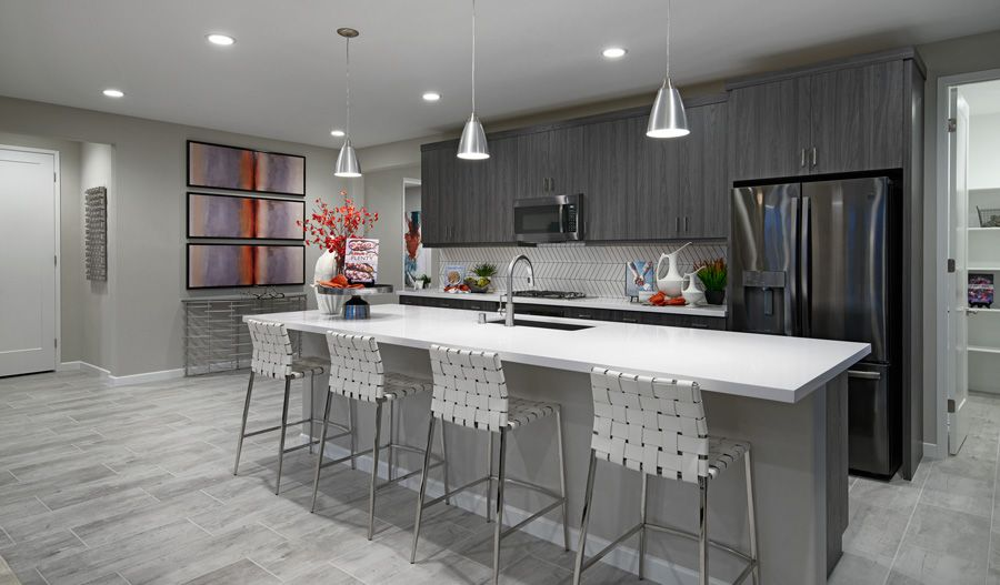 Kitchen featured in the Timothy By Richmond American Homes in Riverside-San Bernardino, CA