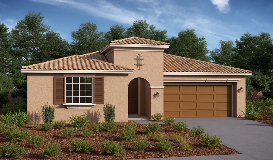 Exterior featured in the Timothy By Richmond American Homes in Riverside-San Bernardino, CA