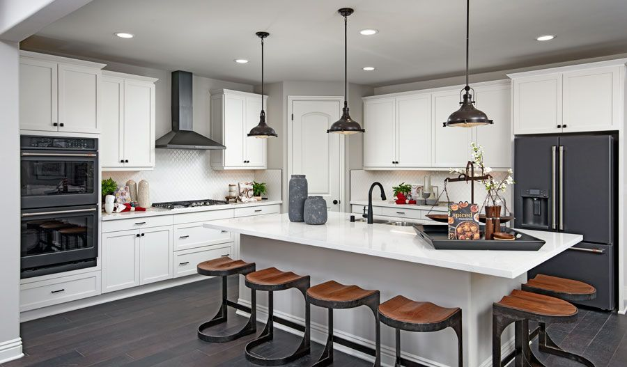 Kitchen featured in the Yorktown By Richmond American Homes in Riverside-San Bernardino, CA
