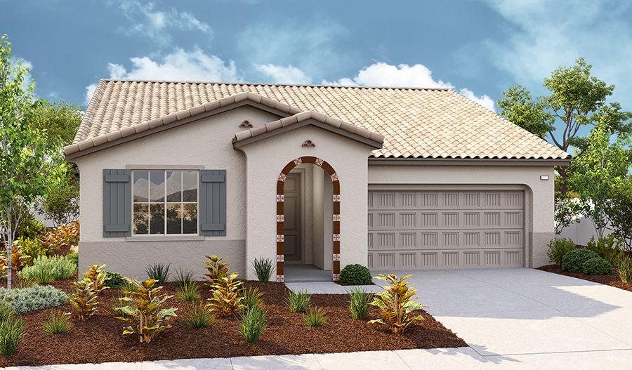Exterior featured in the Alexandrite By Richmond American Homes in Riverside-San Bernardino, CA